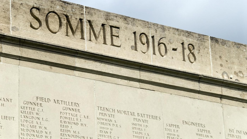 Somme Monument