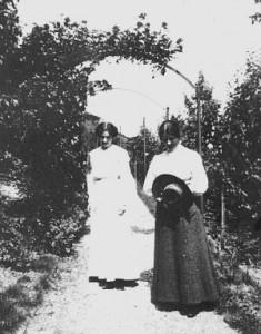 Anna Stettenheimer und Gertrud Stockmayer